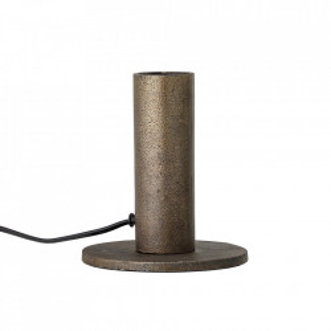 Baza pentru veioza maro alama din metal 15 cm Bruce Bloomingville