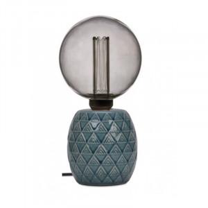 Baza veioza albastra din ceramica 12 cm Earth Opjet Paris