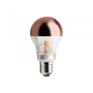 Bec dimabil LED E27 2,5W Fedora Copper Filament Zangra