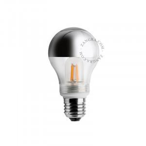 Bec dimabil LED E27 2,5W Fedora Silver Filament Zangra