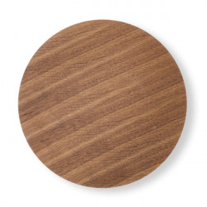 Blat maro inchis din lemn 60 cm Wire Ferm Living