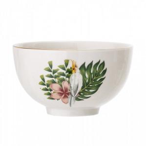 Bol alb din ceramica 11,5x6,5 cm Bloomingville