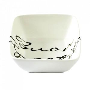 Bol alb/negru din portelan 14 cm Buon Appetito M Riviera Maison