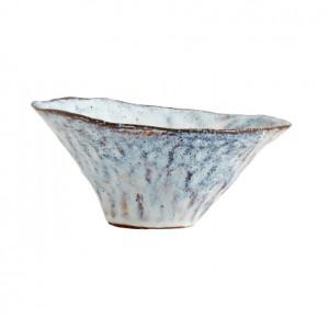 Bol albastru gheata din ceramica 16 cm Soisalo Nordal