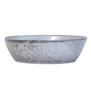 Bol din ceramica gri 27 cm Rustic L HK Living