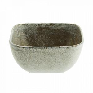 Bol grej din ceramica 15x15 cm Kormi Madam Stoltz