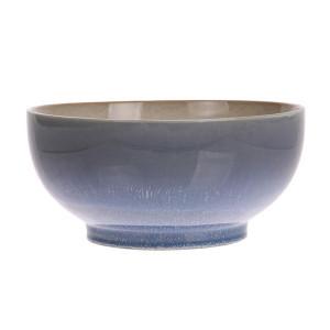Bol salata din ceramica 23 cm 70's Ocean HK Living