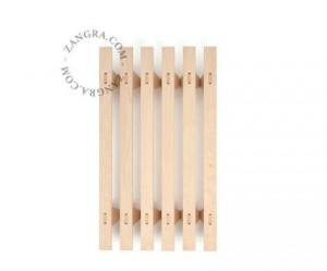 Cadru pat modular maro din lemn 120x200 cm Dinna Zangra