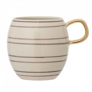 Cana crem din ceramica 320 ml Ava Bloomingville