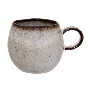 Cana din ceramica gri Sandrine Bloomingville