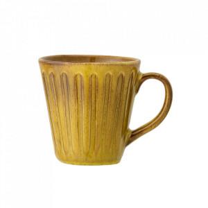 Cana galbena din ceramica 500 ml Cala Bloomingville