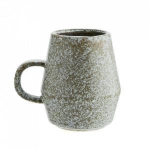 Cana grej din ceramica 9,5x11 cm Vitto Madam Stoltz