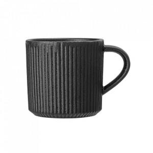 Cana neagra din ceramica 350 ml Neri Bloomingville