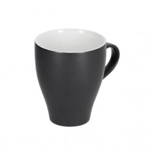 Cana neagra din ceramica 380 ml Sadashi Kave Home
