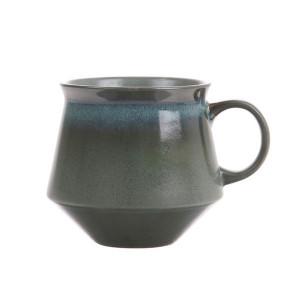 Cana pentru ceai din ceramica 70's XL Moss HK Living