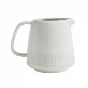 Carafa alba/bej nisipiu din ceramica 1,8 L Graphic Nordal