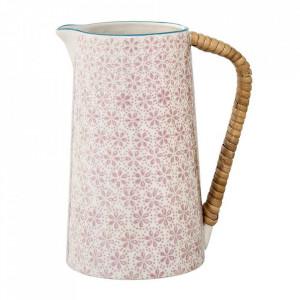 Carafa alba/roz din ceramica 800 ml Patrizia Bloomingville