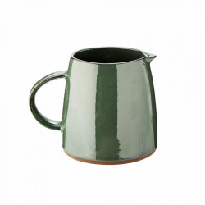 Carafa verde din ceramica 14x18 cm Sea Green Madam Stoltz
