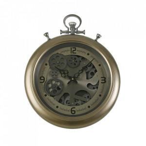 Ceas de perete rotund din MDF si metal 40x50 cm Phil Versa Home