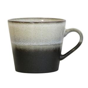 Ceasca gri din ceramica gri 300 ml 70's HK Living