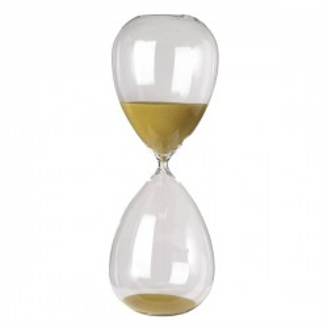 Clepsidra din sticla cu nisip auriu Ball XL Pols Potten