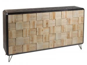 Comoda din lemn de brad si MDF 160 cm Garbi Santiago Pons