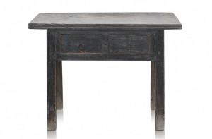 Consola gri din lemn cu sertare 112x47cm Shandong Versmissen