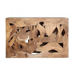 Consola maro din lemn 120 cm Reby Vical Home