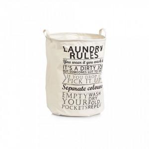 Cos de rufe crem din panza 38x48 cm Laundry Rules Zeller