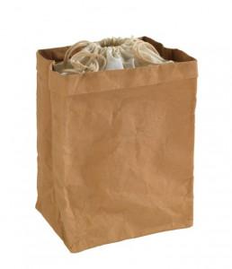 Cos maro/crem din hartie si bumbac Storage Bag Big Wenko