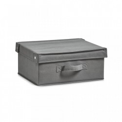 Cos pliabil gri din fleece Storage Box Foldable Cover Bigger Zeller