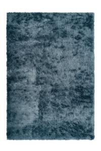 Covor albastru din poliester Twist Lalee (diverse dimensiuni)