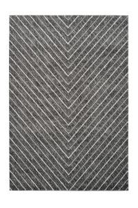 Covor argintiu din polipropilena Swing Uni Lalee (diverse dimensiuni)