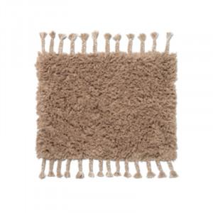Covor bej nisipiu din bumbac 50x70 cm Amass Ferm Living