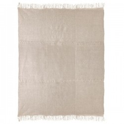 Covor crem din in 230x320 cm Linen Natural HK Living