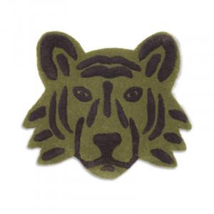 Covor din lana 57x66 cm Tiger Green Ferm Living