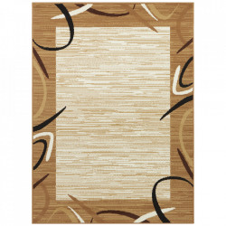 Covor din polipropilena Retro Gold Pattern The Home (diverse dimensiuni)