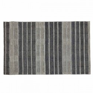 Covor gri din lana si viscoza 120x170 cm Femi Grey Zago