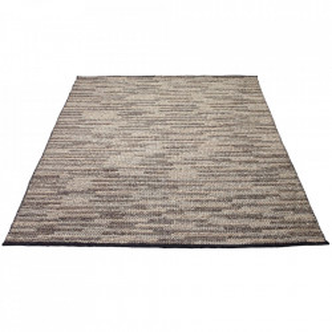 Covor gri din lana si viscoza 140x200 cm Braid Bolia