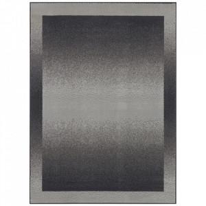 Covor gri din polipropilena Retro Pattern The Home (diverse dimensiuni)