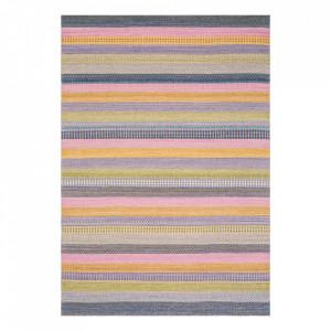 Covor multicolor din lana Enjoy Ligne Pure (diverse dimensiuni)