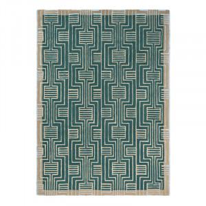 Covor multicolor din lana TB Kinmo-Green Brink & Campman (diverse dimensiuni)
