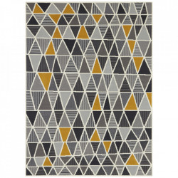 Covor multicolor din polipropilena Geometric Mustard Pattern The Home (diverse dimensiuni)