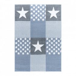 Covor multicolor din polipropilena si iuta Starwalk Three Blue Happy Rugs (diverse dimensiuni)