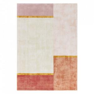 Covor multicolor din viscoza Unite Ligne Pure (diverse dimensiuni)