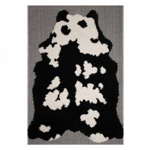 Covor negru/gri din polipropilena 120x170 cm Vini Panda Shadow Zala Living