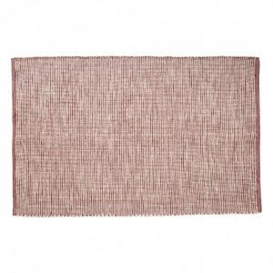 Covor rosu din textil 120x180 cm Woven Hubsch