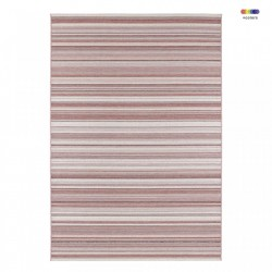 Covor rosu multicolor din polipropilena Secret Calais Red Multicolor Elle Decor (diverse dimensiuni)