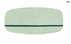Covor verde din lana 90x200 cm Oona Normann Copenhagen