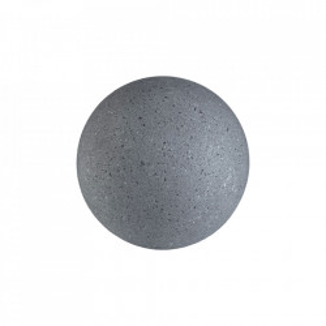 Cuier gri inchis din ciment Lapis Small Bolia